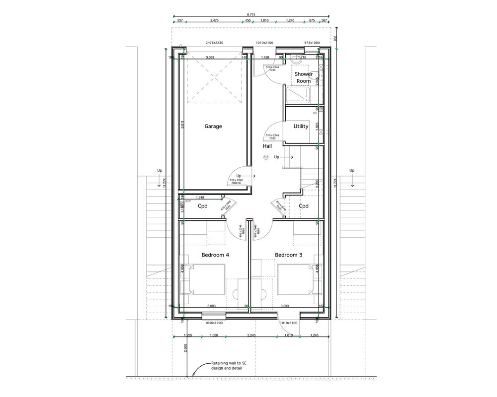 Detached (Ground Floor Plan)