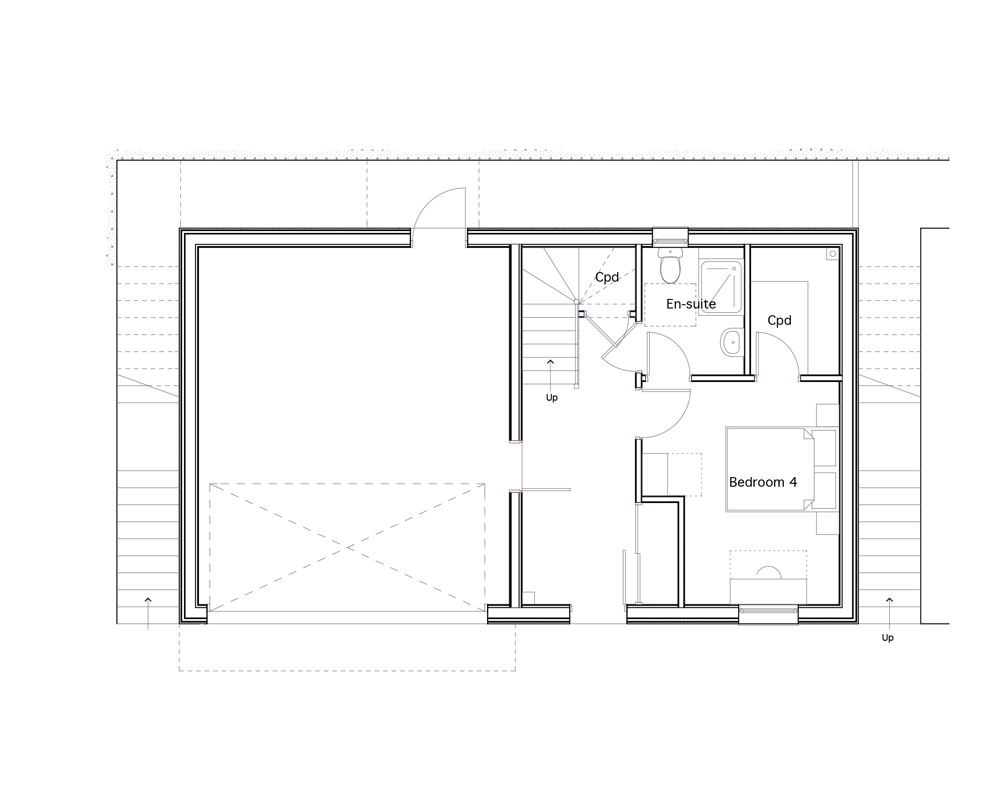 Detached (Second Floor Plan)